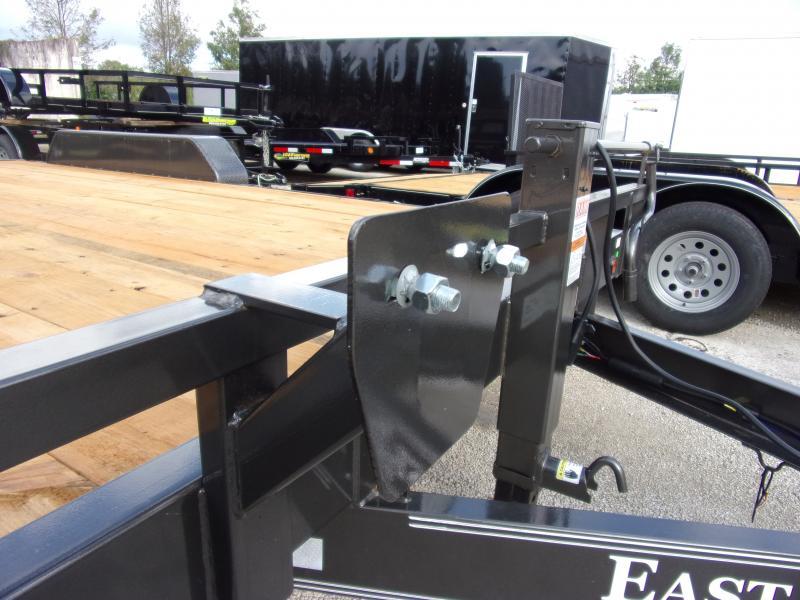 *112240* 7x16 Equipment Trailer  LRT Tandem Axle Trailers 7 x 16
