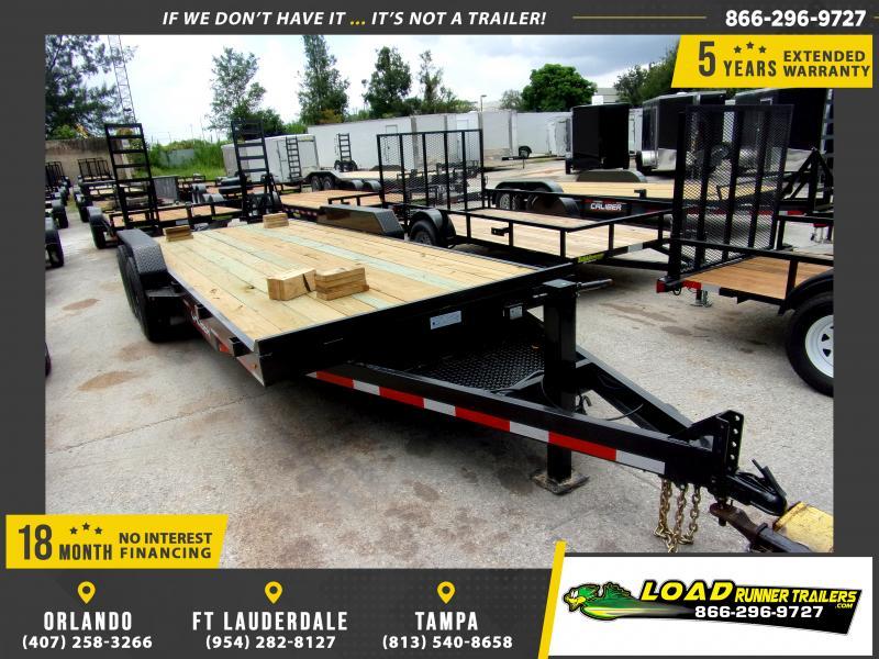 *117209* 7x20 Equipment Trailer |LRT Tandem Axle Trailers 7 x 20
