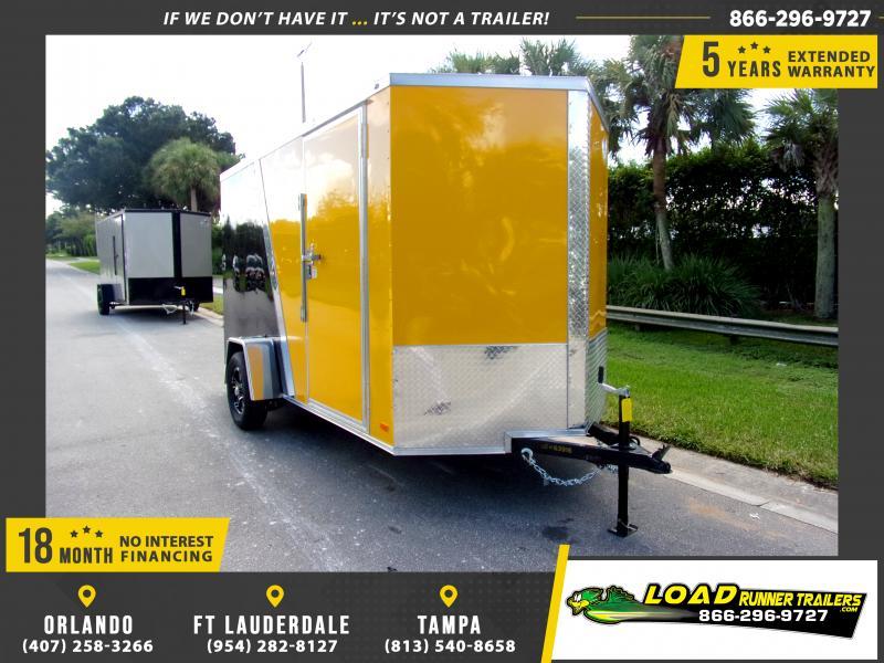 *117833* 6x12 Enclosed Cargo Trailer |LRT Haulers & Trailers 6 x 12
