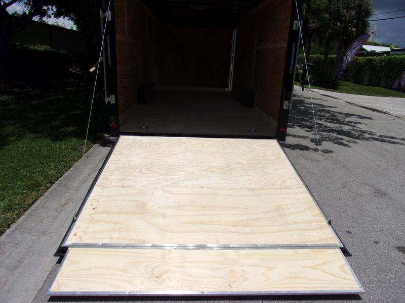 *110021* 8.5x24 Enclosed Cargo Trailer |LRT Tandem Axle Trailers 8.5 x 24