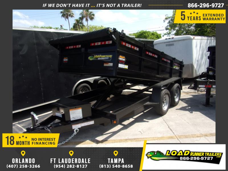 "*114946* 6x12 7K Dump Trailer W/27"" Sides 6 x 12"