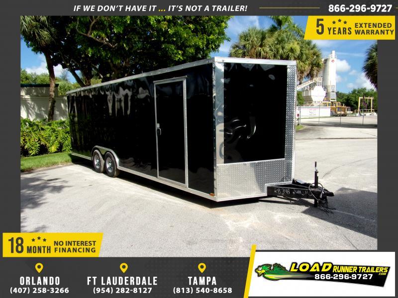 *116981* 8.5x24 Enclosed Cargo Trailer |LRT Tandem Axle Trailers 8.5 x 24