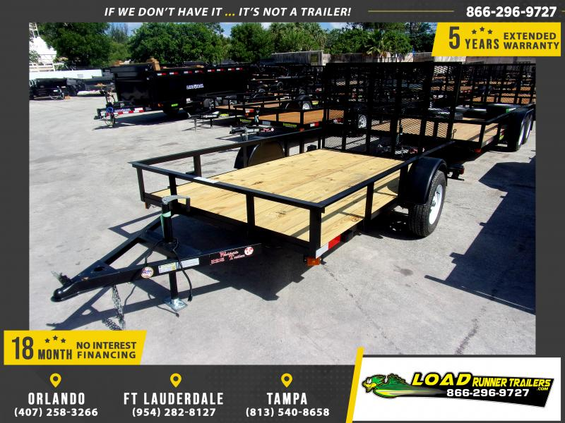*U10* 6x10 Utility|Lawn|ATV|Multipurpose Trailer |LRT Haulers & Trailers 6 x 10 | U72-10S3-AR