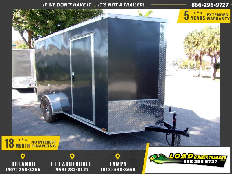 *113536* 6x12 Enclosed Cargo Trailer |LRT Haulers & Trailers 6 x 12