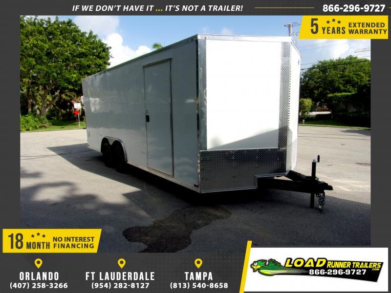 *117090* 8.5x20 Enclosed Cargo Trailer |LRT Tandem Axle Trailers 8.5 x 20