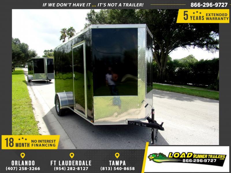 *116526* 6x12 Enclosed Cargo Trailer  LRT Haulers & Trailers 6 x 12