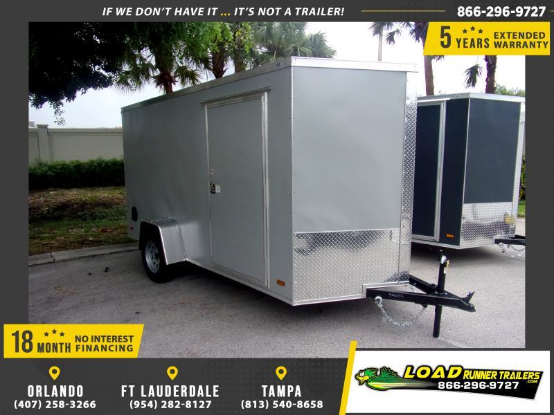 *116618* 6x12 Enclosed Cargo Trailer |LRT Haulers & Trailers 6 x 12