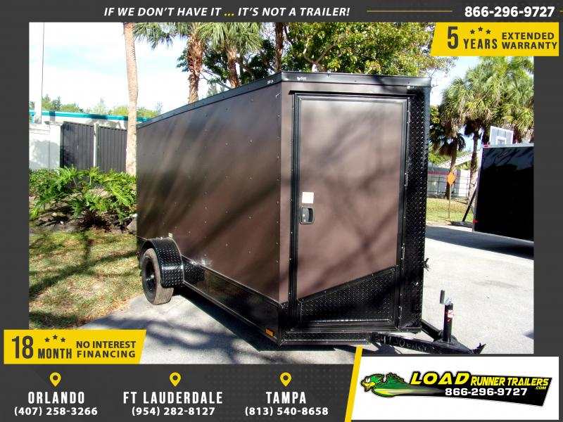 *114624* 6x12 Enclosed Cargo Trailer |LRT Haulers & Trailers 6 x 12