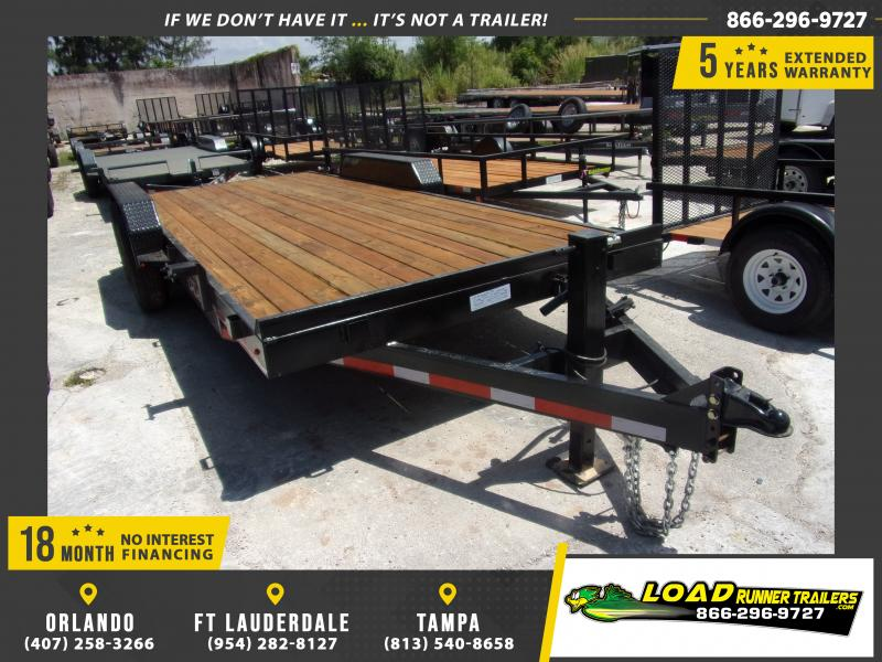 *115068* 7x20 Equipment Trailer |LRT Tandem Axle Trailers 7 x 20
