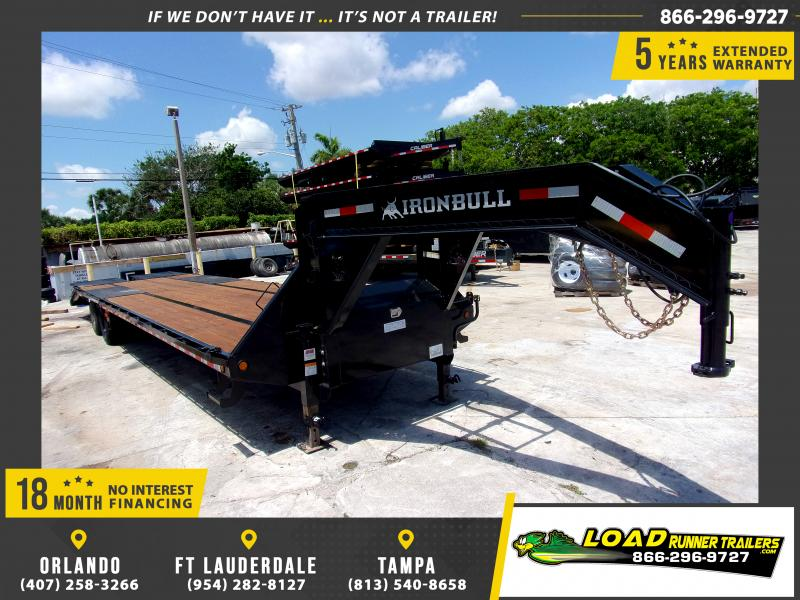 *115083* 8.5x36 Gooseneck Flatbed Deck Over Trailer |LRT Haulers & Trailers 8.5 x 36