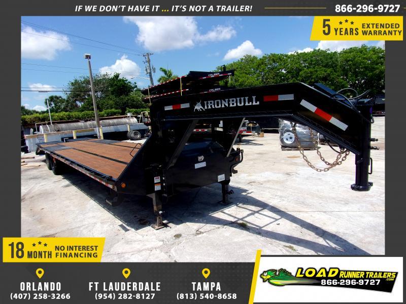 *115083* 8.5x36 Gooseneck Flatbed Deck Over Trailer |LRT Haulers & Trailers 8.5 x 36