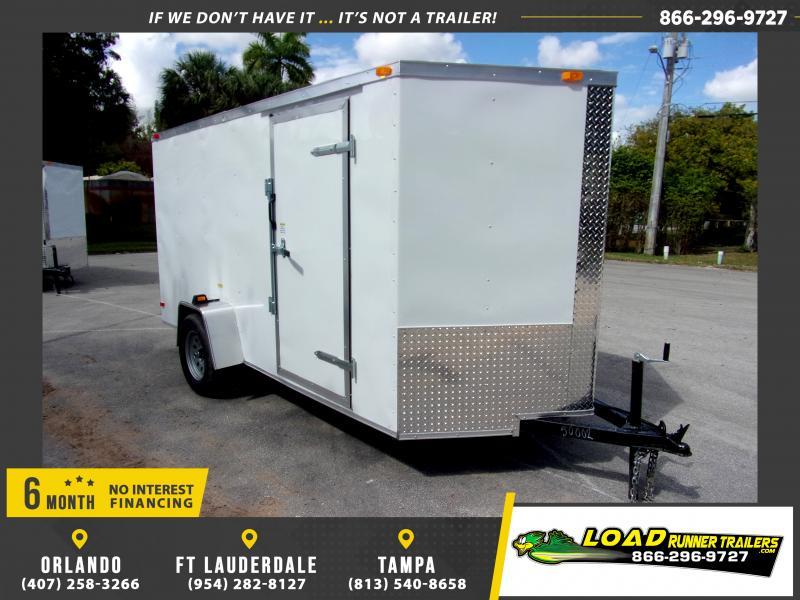*115693* 6x12 Enclosed Cargo Trailer  LRT Haulers & Trailers 6 x 12