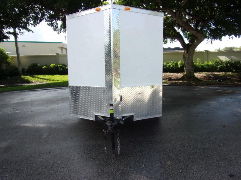 *111774* 6x12 Enclosed Cargo Trailer |LRT Tandem Axle Trailers 6 x 12