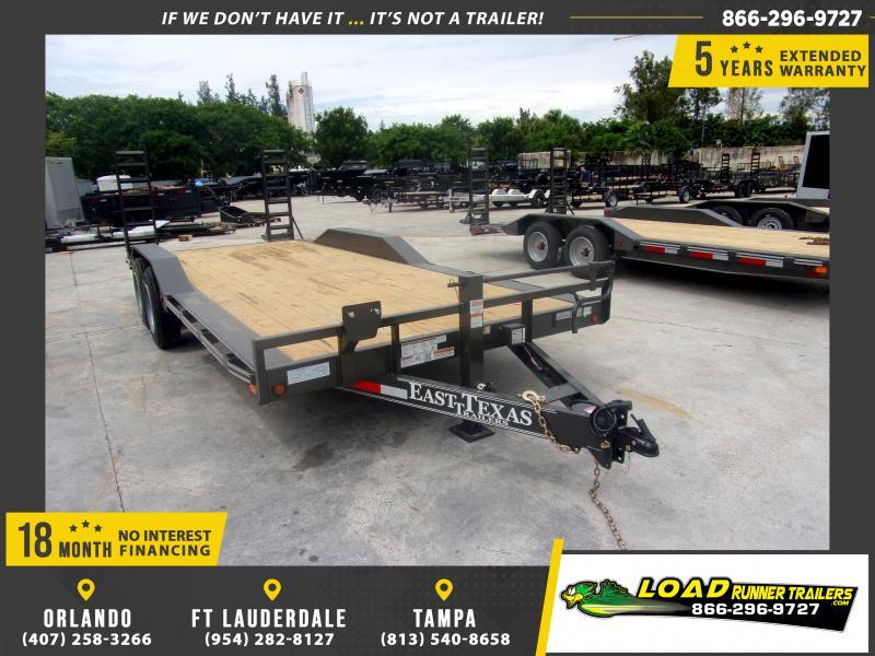 *117535* 8.5x20 7 TON Equipment Hauler Trailer | LRT Trailers 8.5 x 20