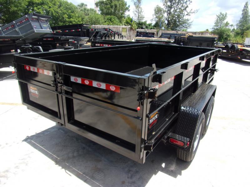 *115863* 6x12 5 TON Dump Trailer |LRT Trailers & Dumps 6 x 12
