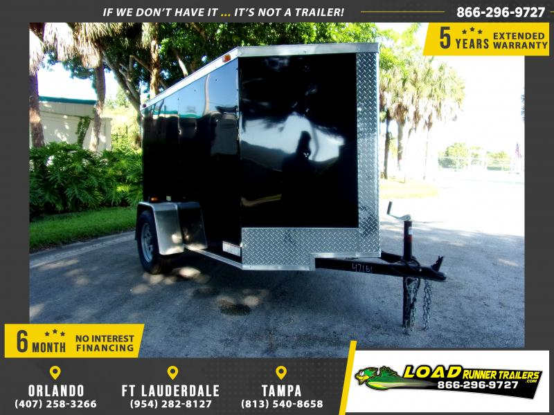 *111727* 5x8 Enclosed Cargo Trailer |LRT Haulers & Trailers 5 x 8