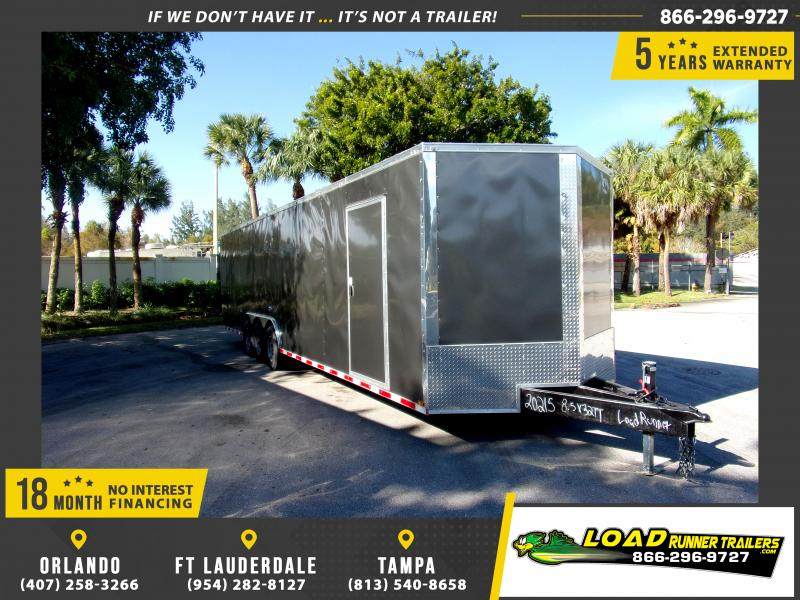 *112792* 8.5x32 Enclosed Cargo Trailer |LRT Tandem Axle Trailers 8.5 x 32