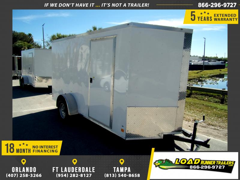 *115017* 6x12 Enclosed Cargo Trailer |LRT Haulers & Trailers 6 x 12