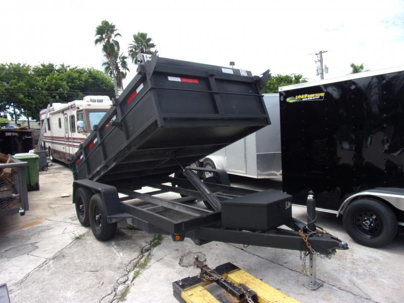 *117682* 6x12 5 TON Dump Trailer  LRT Trailers & Dumps 6 x 12
