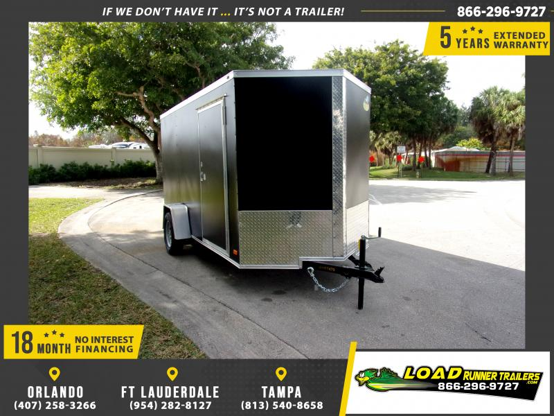 *113283* 6x12 Enclosed Cargo Trailer |LRT Haulers & Trailers 6 x 12