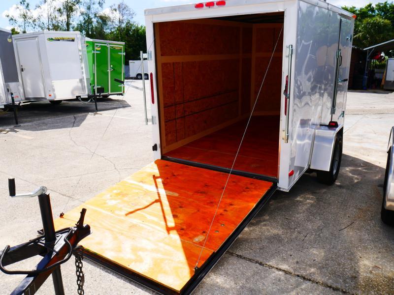 *E3-BB* 6x10 Enclosed  Trailer Cargo Trailers 6 x 10   EV6-10S3-R