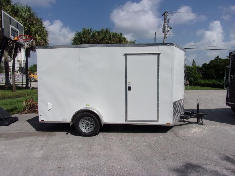 *117792* 7x12 Enclosed Cargo Trailer |LRT Haulers & Trailers 7 x 12