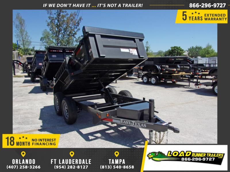 *114723* 5x10 6 TON Dump Trailer |LRT Dumps and Trailers 5 x 10