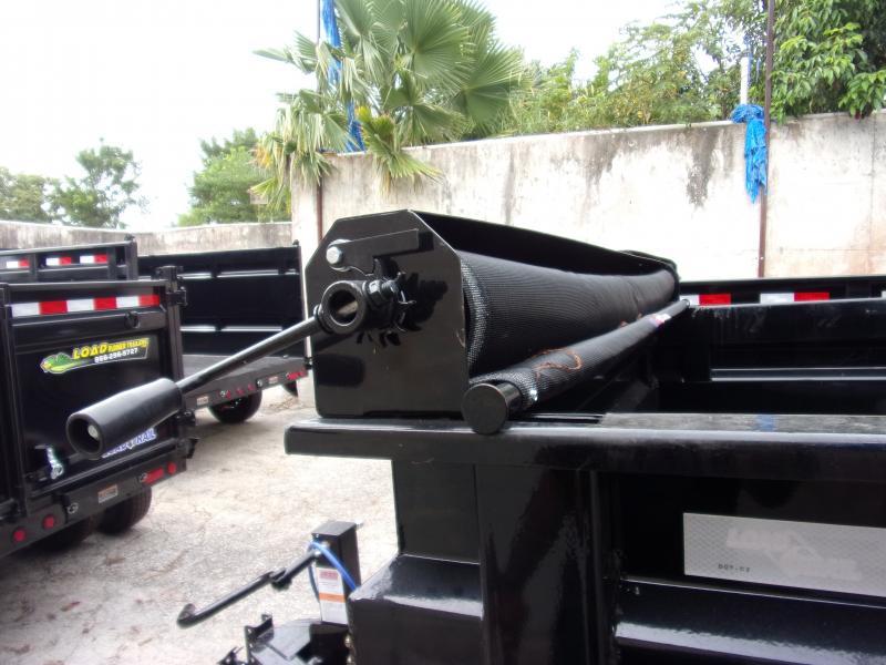 *112939* 7x14 Dump Trailer |LRT Tandem Axle Trailers 7 x 14