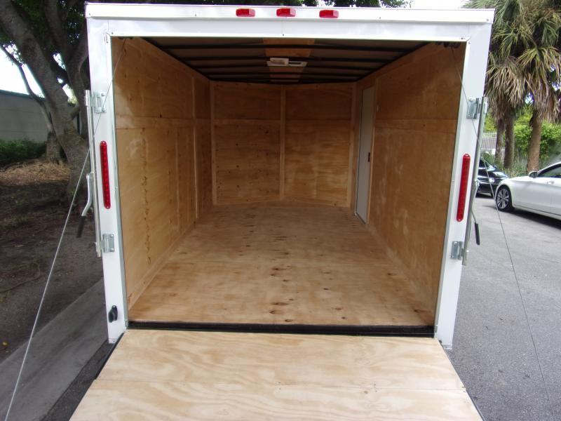 *111264* 7x12 Enclosed Cargo Trailer |LRT Tandem Axle Trailers 7 x 12