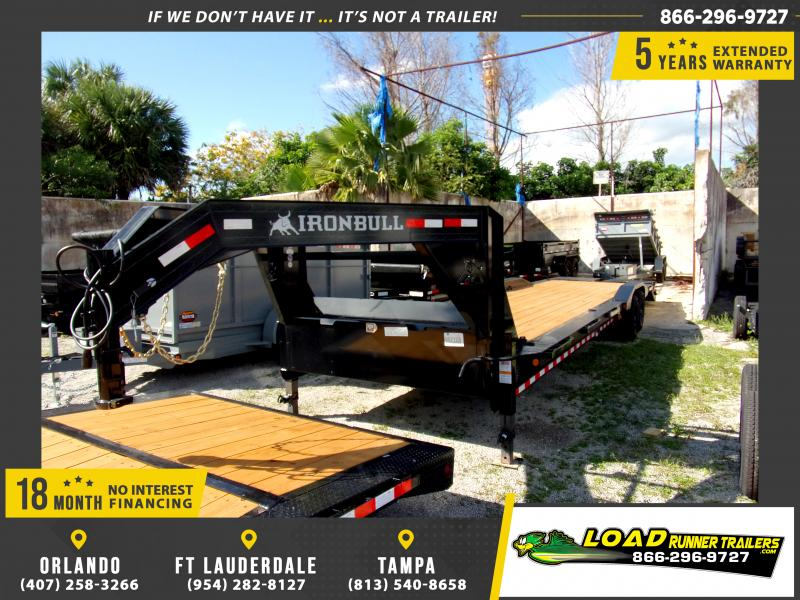 *113743* 8.5x34 Gooseneck Car Trailer |LRT Tandem Axle Trailers 8.5 x 34