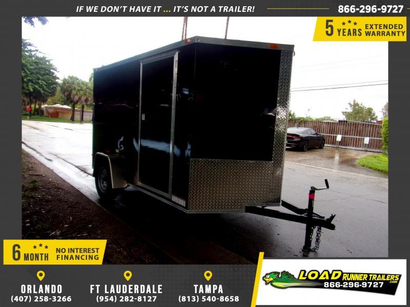 *117136* 6x10 Enclosed Cargo Trailer |LRT Haulers & Trailers 6 x 10