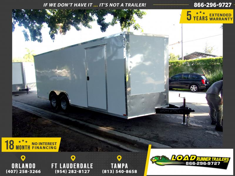 *116684* 8.5x20 Enclosed Cargo Trailer |LRT Tandem Axle Trailers 8.5 x 20