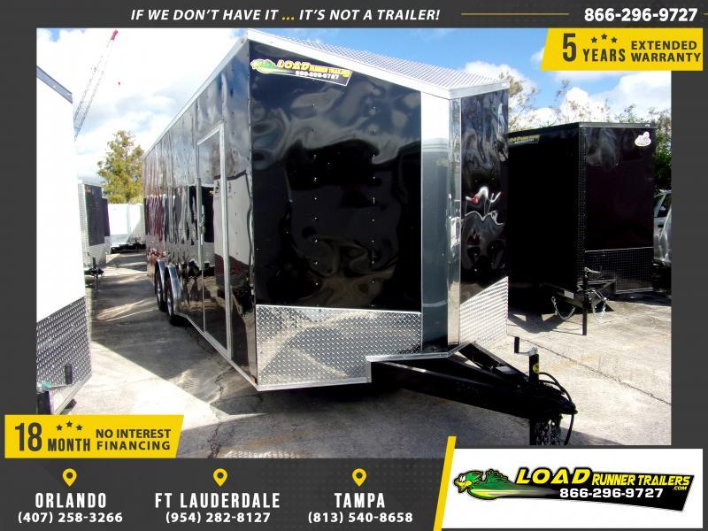 *112998* 8.5x24 Enclosed Cargo Trailer |LRT Tandem Axle Trailers 8.5 x 24
