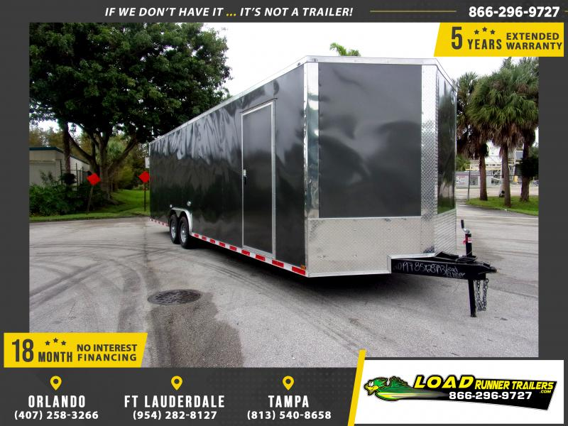 *112576* 8.5x28 Enclosed Cargo Trailer |LRT Tandem Axle Trailers 8.5 x 28