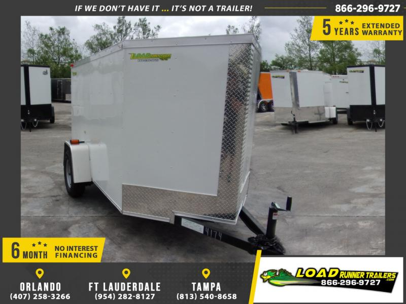 *109450* 5x8 Enclosed Cargo Trailer |LRT Haulers & Trailers 5 x 8