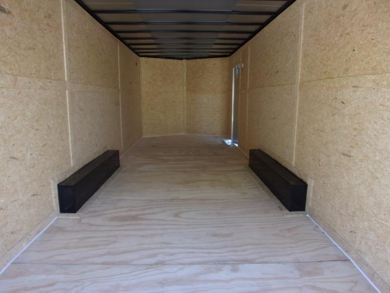 *116458* 8.5x24 Enclosed Cargo Trailer  LRT Tandem Axle Trailers 8.5 x 24