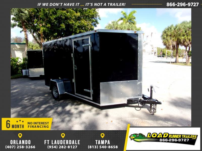 *113758* 7x12 Enclosed Cargo Trailer |LRT Haulers & Trailers 7 x 12