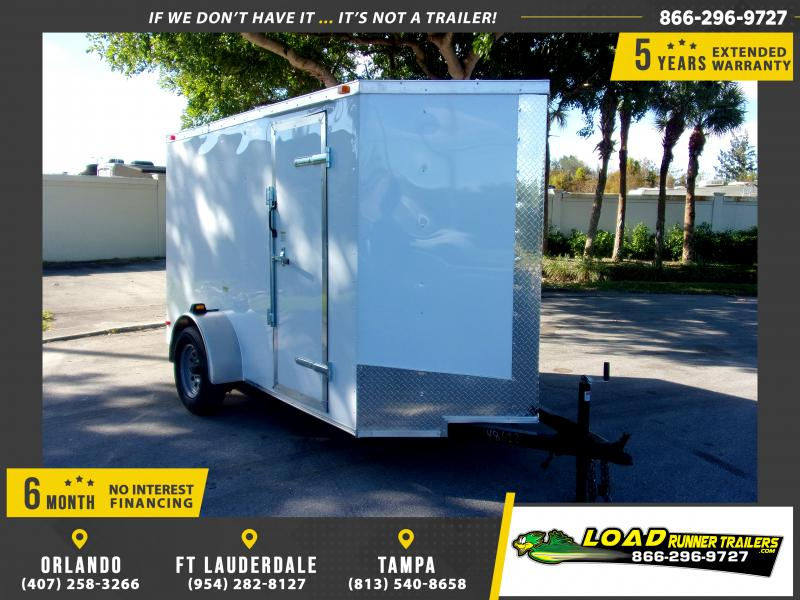 *112965* 5x10 Enclosed Cargo Trailer |LRT Haulers & Trailers 5 x 10