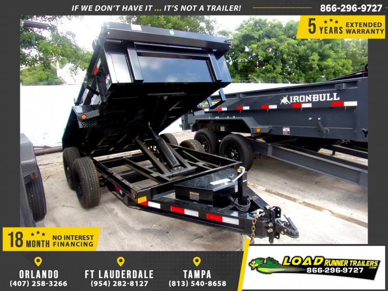 *116492* 5x10 6 TON Dump Trailer |LRT Dumps and Trailers 5 x 10