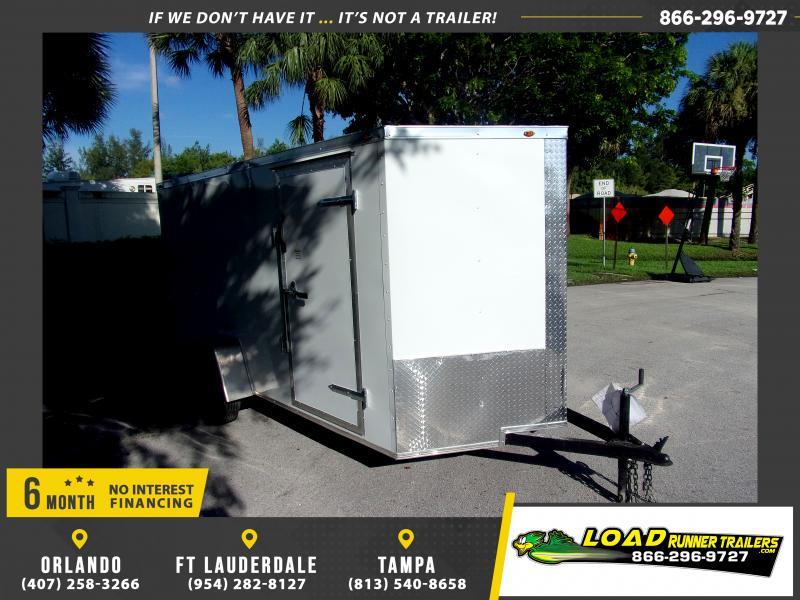*116610* 6x12 Enclosed Cargo Trailer |LRT Haulers & Trailers 6 x 12