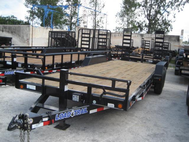 *EQ16* 7x22 7 TON Equipment & Car Hauler Trailer |LR Trailers 7 x 22 | EQ83-22T7-KR