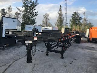 *112547* 8x53 3-4 Car Hauler Trailer 10 TON Wedge 8 x 53