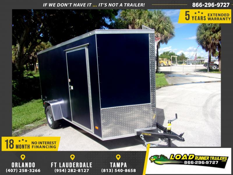 *117931* 6x12 Enclosed Cargo Trailer |LRT Haulers & Trailers 6 x 12
