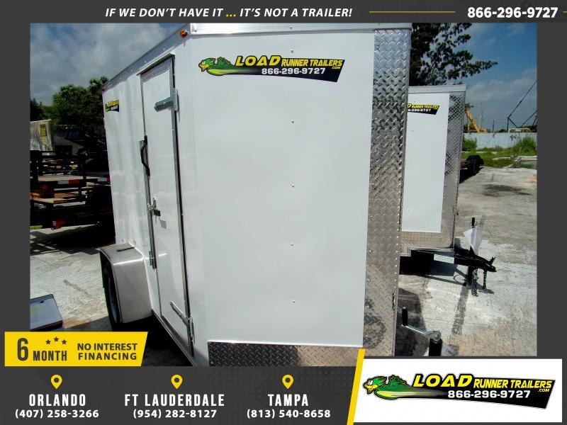*114685* 5x8 Enclosed Cargo Trailer |LRT Haulers & Trailers 5 x 8