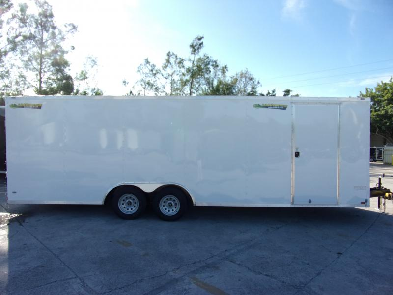 *111253* 8.5x24 Enclosed Cargo Trailer |LRT Tandem Axle Trailers 8.5 x 24