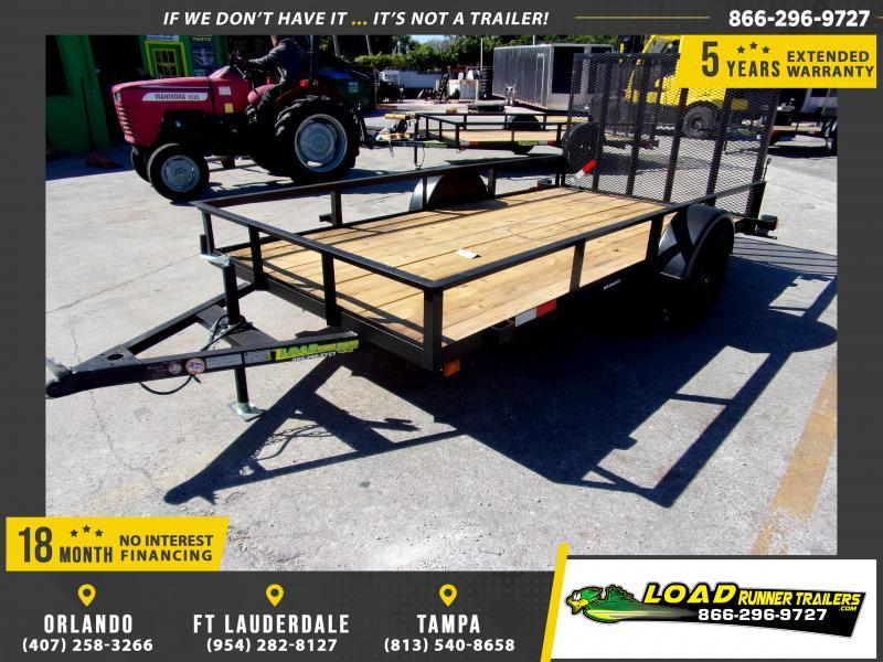 *112598* 6x12 Utility Lawn ATV Multipurpose Trailer  LRT Haulers & Trailers 6 x 12