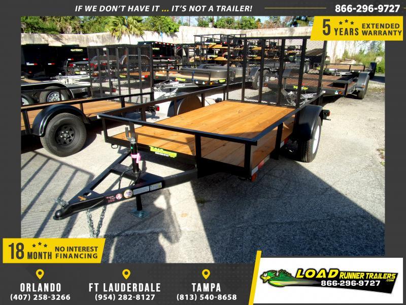 *113197* 6x10 Utility Lawn ATV Multipurpose Trailer  LRT Haulers & Trailers 6 x 10