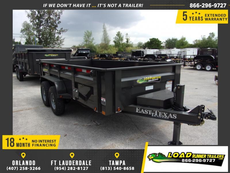 *114727* 7x14 Dump Trailer |LRT Tandem Axle Trailers 7 x 14