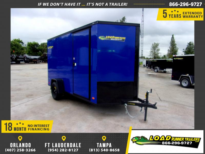 *111910* 6x12 Enclosed Cargo Trailer |LRT Haulers & Trailers 6 x 12