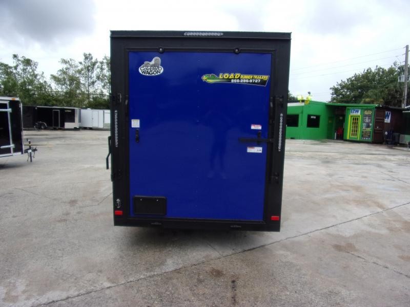 *111910* 6x12 Enclosed Cargo Trailer |LRT Haulers & Trailers 6 x 12